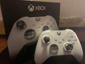Control inalámbrico Xbox Elite: Edición especial blanco