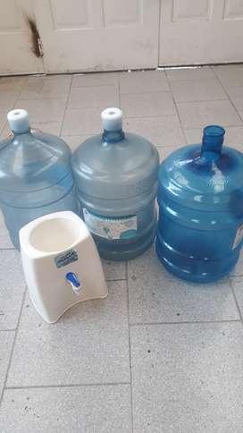 Bidones de Agua con Base
