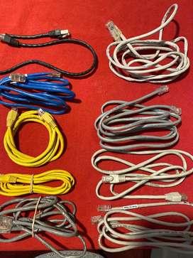Lote cables de red/ Rj45