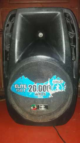 Parlante italy audio 20.000 whatss de potencia