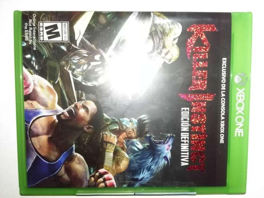 Killer Instinct Definitive Edition Xbox One Nuevo en Fisico 0
