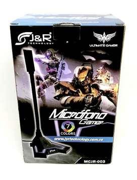 Microfono Gamer Pro 7 colores Led RGB