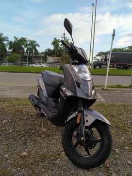 Hermosa motocicleta Kimco Twist modelo 2019!!!