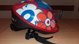 Casco Bicicleta Niña Skb
