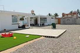 Casas en Playa Colan