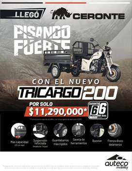 Motocarguero Ceronte 200