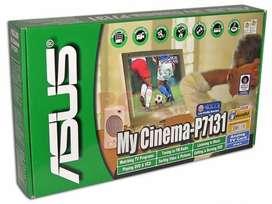 Sintonizadora de TV analógica, Asus P7131 My Cinema.