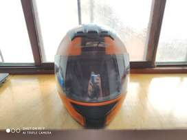 Casco Ls2 rookie color naranja