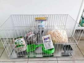 Jaulas reforzadas para conejos
