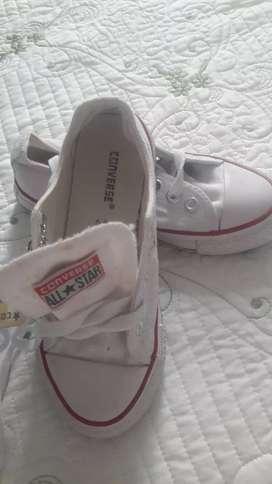 Zapato converse niños numero 30 blancos