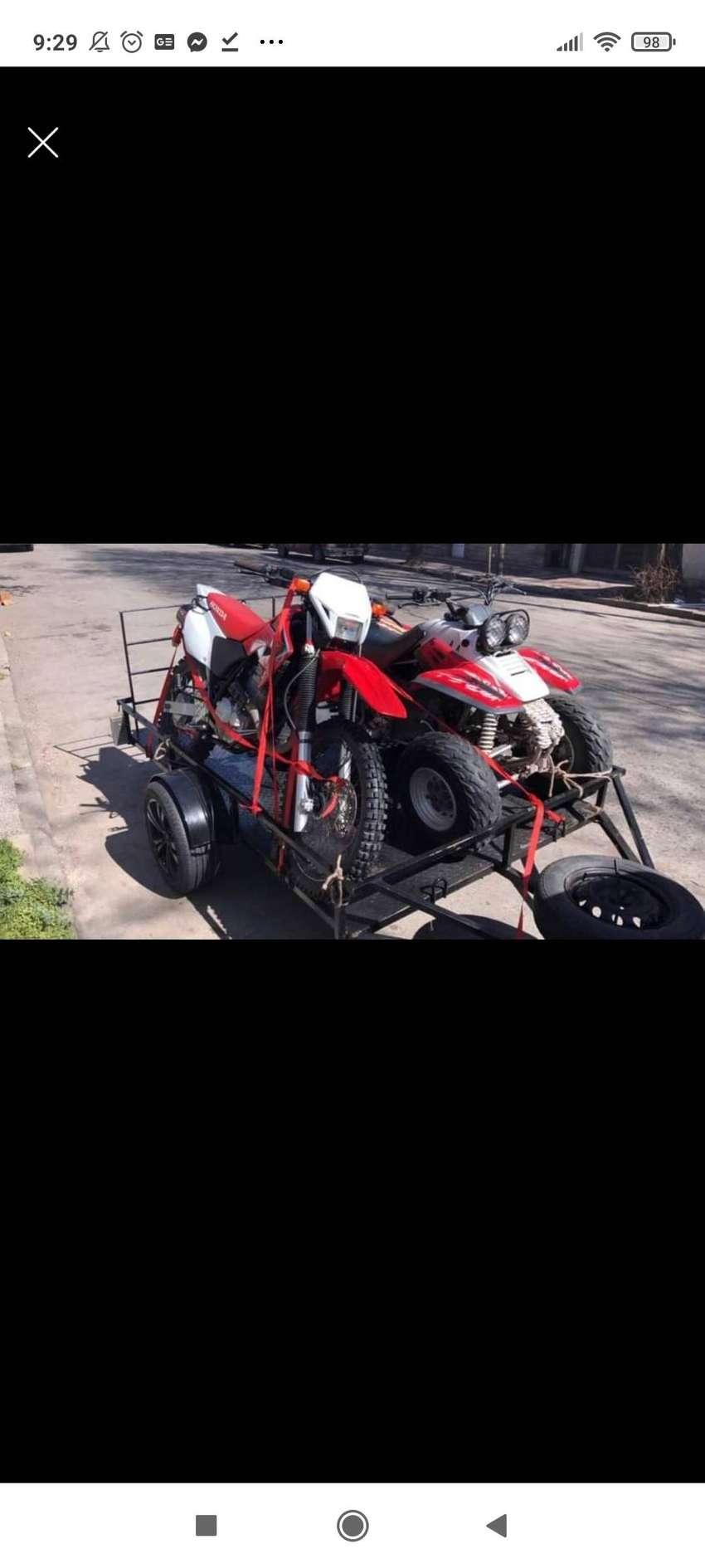 Trailer motos y cuatriciclos 0