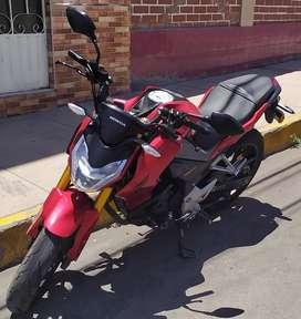 MOTO HONDA CB190R AÑO 2018  S/ 8000