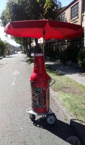 Termo Móvil Cocacola Fibra Coca Cola