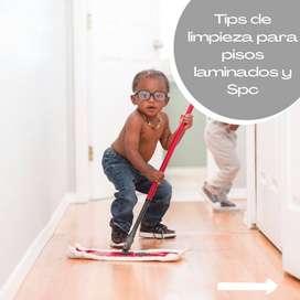 Tips de cuidado para pisos laminados y Spc