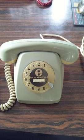 TELEFONO ANTIGUO MOD.HERALDO GRIS 1973