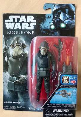 Figura Star Wars: Rogue One Figura De Almirante Raddus