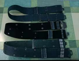 Correaje, fornitura, Correa, cinturón policial militar.