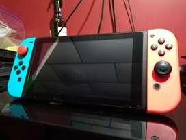 """Nintendo switch + 2 juegos""""NO HAGO CAMBIOS"""""""