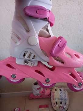 Vendo rollers para niñas Juliana