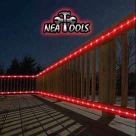 Tubo Manguera LED x 5 Metros Rojo