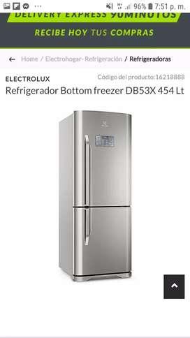 REFRIGERADORA ELECTROLUX 454LT DB53X NUEVO