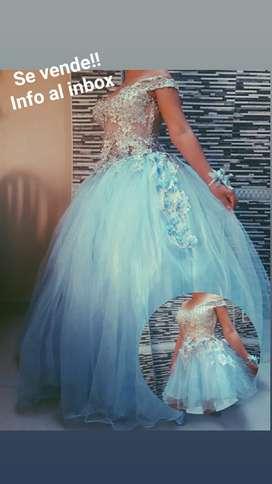 vestido de quinceñera
