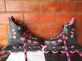 Vendo patines de línea talla m