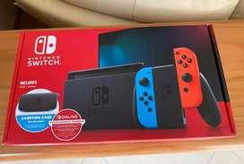 Nueva nintendo Switch Roja Sellada