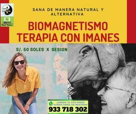 TERAPIA NATURAL  DE  BIOMAGNETISMO, SANANDO CON IMANES, EN LOS OLIVOS - LIMA