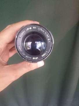 Lente Canon fd 135mm f3.5