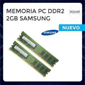 MEMORIA PC DDR 2 2GB SAMSUNG PC