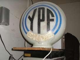 Globo de vidrio ANTIGUO,nuevo,sin uso,YPF ENDE