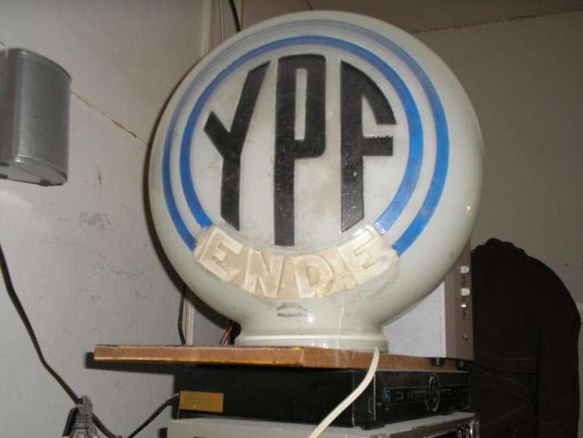 Globo de vidrio ANTIGUO,nuevo,sin uso,YPF ENDE 0