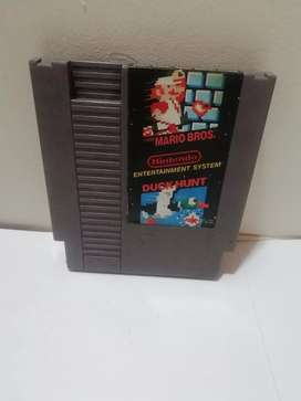 Super Mario Bros And Duck Hunt Nes. Nintendo