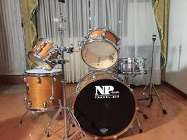 Bateria Marca Np Drums Travel Kit