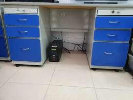 Venta de escritorio azul