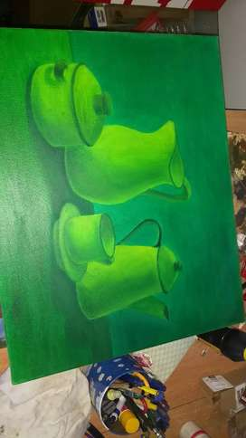 Pintura al Óleo - bodegón