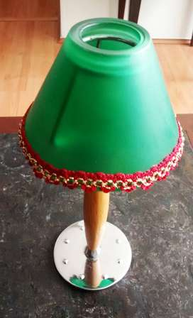 candelabro de mesa pantalla