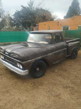 Vendo Chevrolet apache con GNC papeles al día