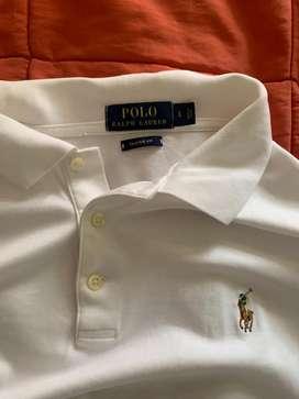 Remato Polo Ralph Lauren con cuello talla L original importado de USA