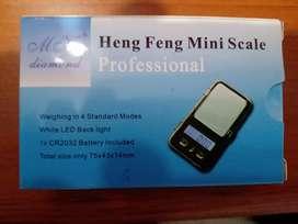 Gramera digital de bolsillo 200 gm