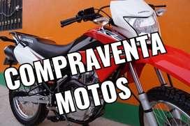 COMPRAVENTA DE MOTOS, PAGO INMEDIATO, SIN TANTO PAPELEO, SOLO MOTOS FLAMANTES, AL DIA, Y CON POCOS KILÓMETROS!