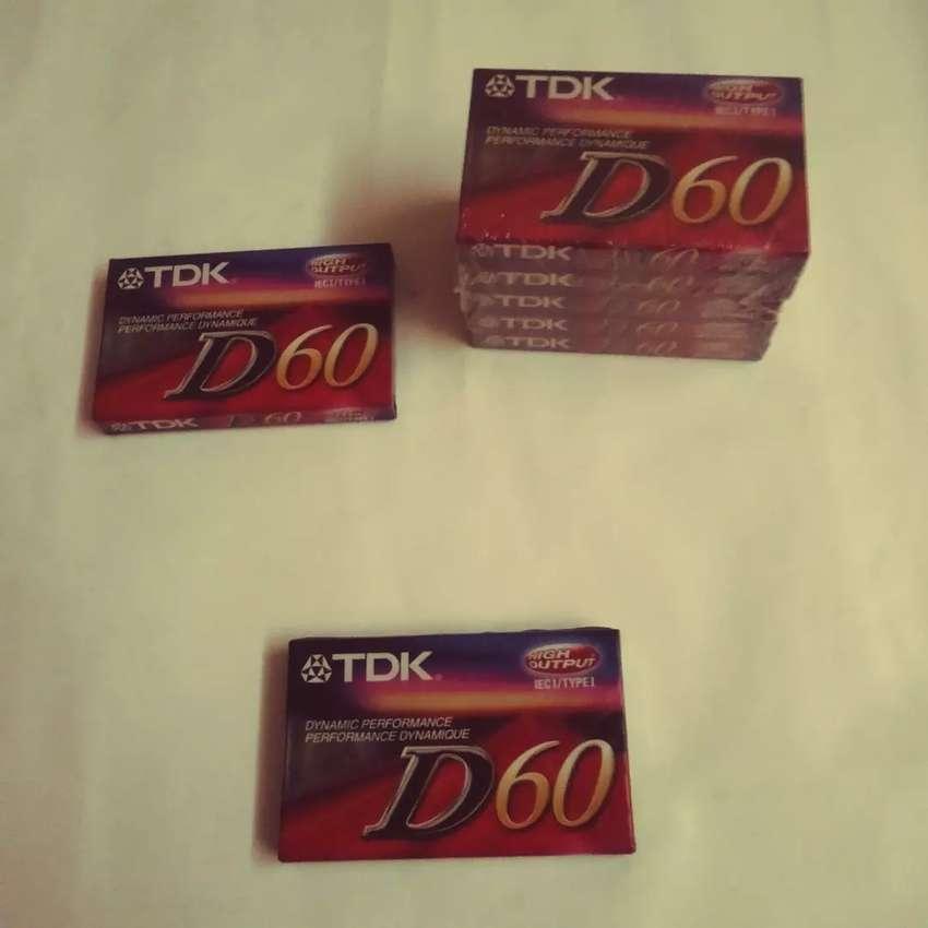 Cassette audioTDK D60