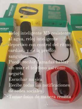 Reloj inteligente band M5