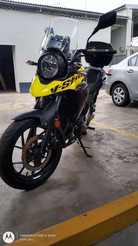 Moto Suzuki vstrome 250
