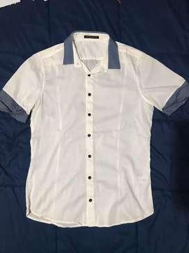Camisa Tascani Blanca