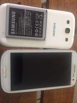 Samsung s3 mini   Seme callo y se daño el display cambio por otro que funcione ya que estoy  sin dinero para otro