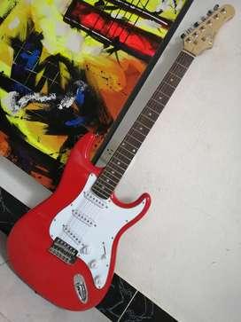 Guitarra eléctrica eko s300 stratocaster como nueva squier