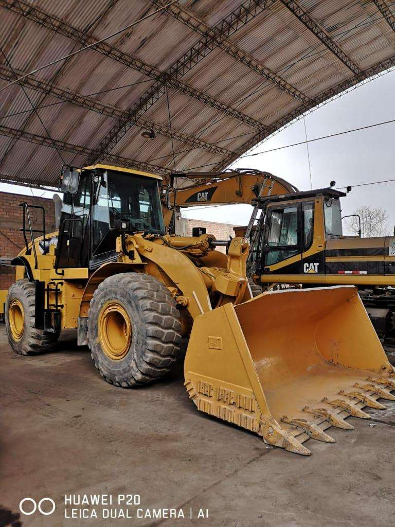 CARGADOR FRONTAL CAT 950H 2008 9500 HORAS 0