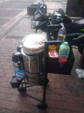 Se vende negocio completo mi primer café con zonas acreditadas 7 termos de 80 y 100 tintos 10 termos automáticos 7 carr